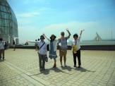 葛西臨海公園~☆青い空に青い海!満喫しました!