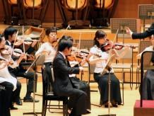 ヴァイオリンの音色にうっとりとします。