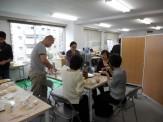 支援室のボランティアさんの提案で通学生の方たちと餅つき&試食会!いろんな味があっておいしかったです!