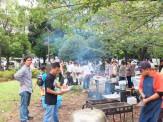 BBQ@木場公園 みんなで集まって もちよって いろいろ焼いて 楽しい!