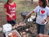 BBQ@木場公園!お肉を焼くのはまかせておいてね!