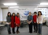 2013年3月 佐々木アメリアさんによる講演会集合写真