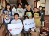 宮城県の福祉施設に図書寄贈を行いました。記念に一枚☆