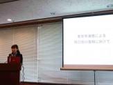 2012年支援生による研究報告会、被災地への復興に向けてへの想いを語っていただけました!