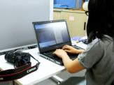 実習生さんに、学習支援室の教材作成のお手伝いを頂いています。いつもありがとうございます。