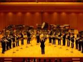 トランペットとトロンボーンの演奏