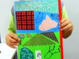川柳冊子の表紙を作ってみたよ。とても上手にできました!