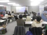 自主勉強会「難民等に対する定住支援等」 の様子です。