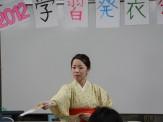 2012学習発表会 おどりのパフォーマンス